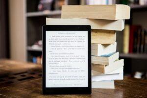 Czytnik ebooków oparty o książki