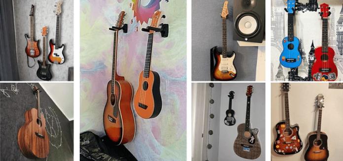 Wieszak na gitarę, skrzypce, ukulele - dlaczego tego typu akcesoria gitarowe warto nabyć? Wieszanie gitary na ścianie