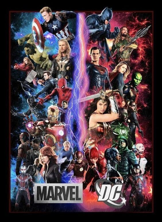 Antagoniści Marvel i DC Comics