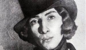 georg sand portret