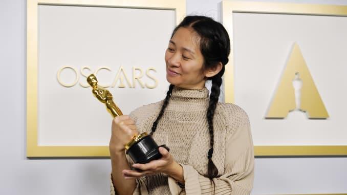 Chloe Zhao, Oscary 2021