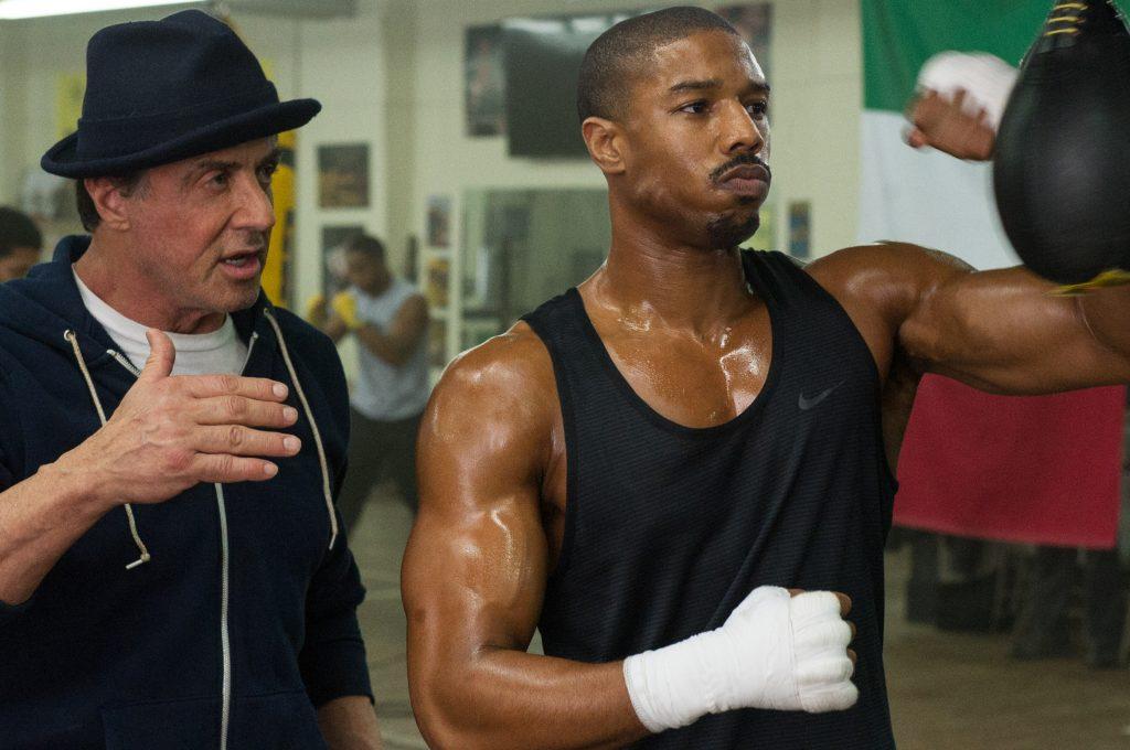 "kadr z filmu ""Creed"" - filmy bokserskie"