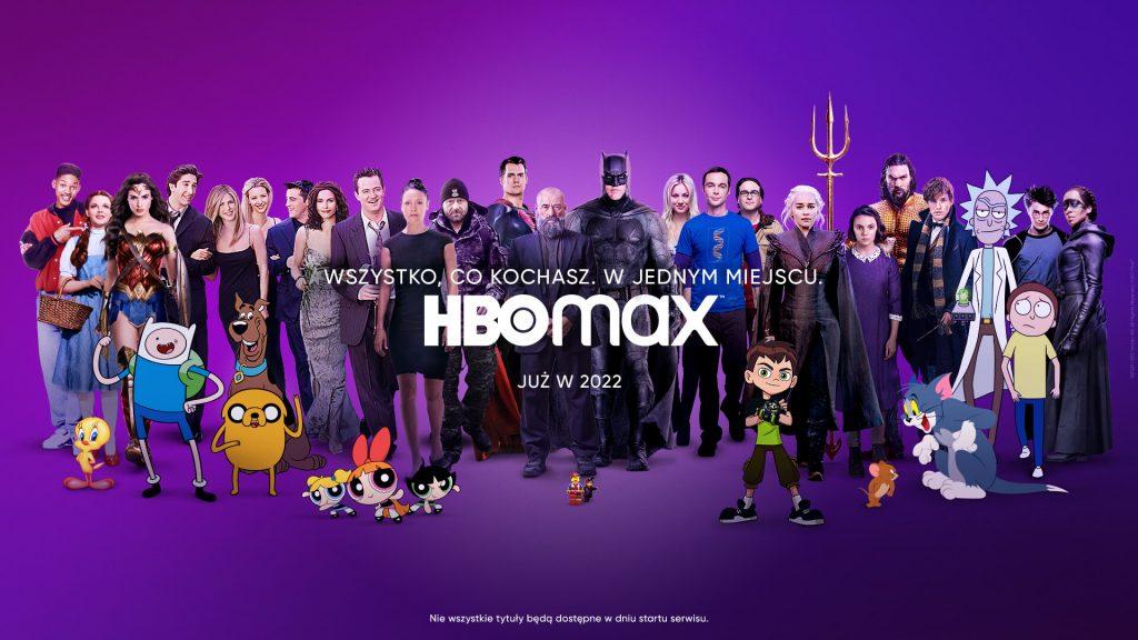 Premiera HBO Max w Polsce! Do 2022 jeszcze kawałek